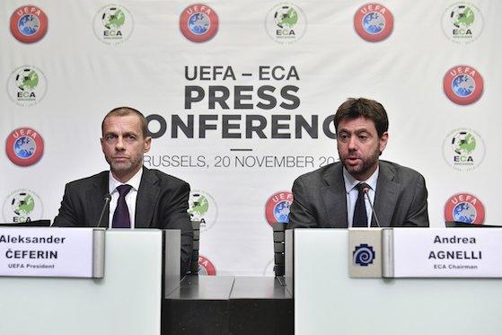 La Uefa sospende il procedimento contro Juventus, Barcellona e Real Madrid