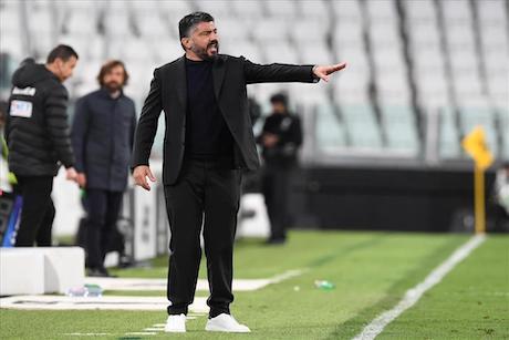 È difficile capire quale fosse l'idea di Gattuso per battere la Juventus