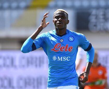 Napoli a trazione Osimhen: 4 1 allo Spezia e si torna in zona Champions