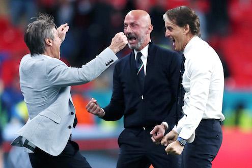 Mancini e Vialli si sono liberati del dolore di Wembley