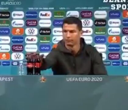 Ronaldo rifiuta la Coca Cola, Pogba toglie la Heineken: che succede alle star del calcio?