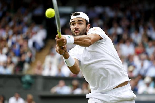 Berrettini: «Mi sono fatto male durante Wimbledon. Devastato all'idea di saltare le Olimpiadi»