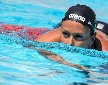 La nordica Federica Pellegrini interprete divina di cazzimma applicata al nuoto