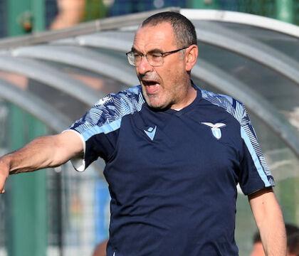 Sarri: «La Lega Serie A è molto disponibile verso di me, mi risponde sempre»