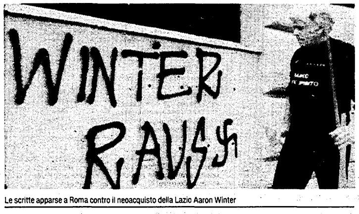 Trent'anni dopo Winter, tocca a Hysaj: le frange nazifasciste laziali non cambiano mai