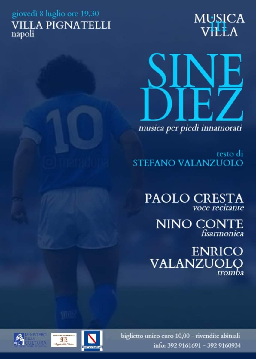 Gli anni napoletani di Maradona tradotti in musica, lo spettacolo dei Valanzuolo (padre e figlio)