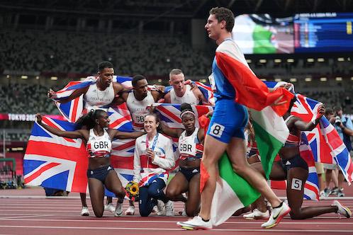 Tokyo, staffetta inglese 4×100 sotto indagine per doping (nun sputa' 'ncielo…)