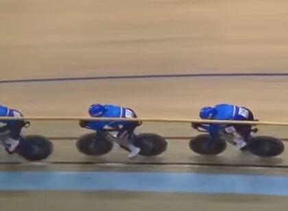 Strepitoso Ganna, strepitoso oro a squadre Italia inseguimento (record del mondo)