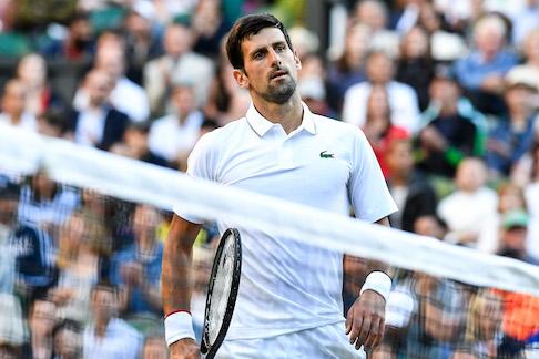 Le lacrime di Djokovic
