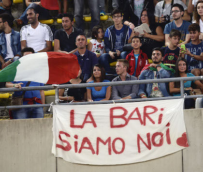 Bari Foggia (in Serie C) ha avuto più spettatori di Juventus Roma